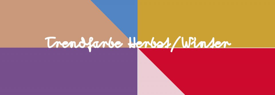 Farbtrends 2017/18